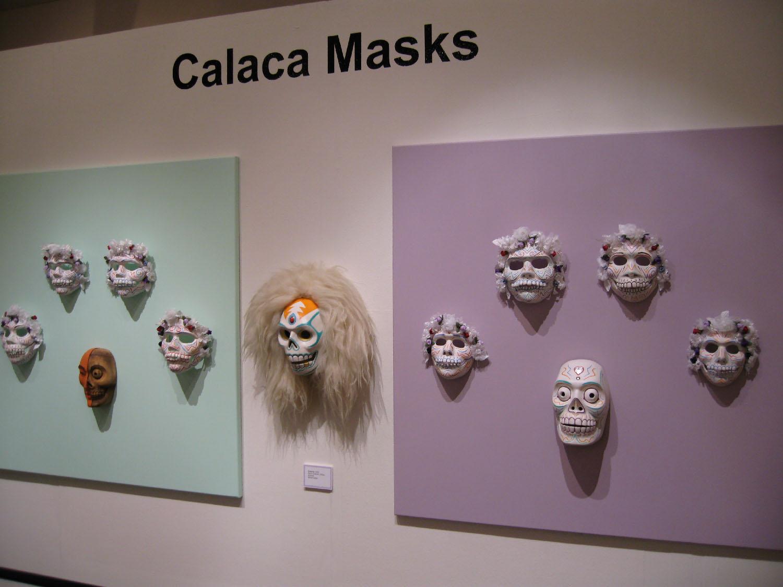 Calaca Masks Panel