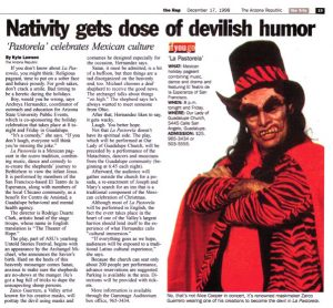 Nativity Gets Dose of Devilish Humor
