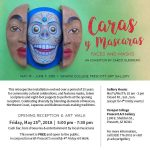Caras y Mascaras:  Exhibition at Yavapai College Art Gallery